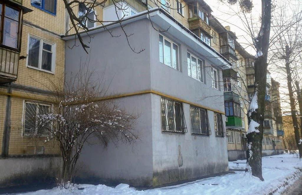 Пристройка балкона к квартире