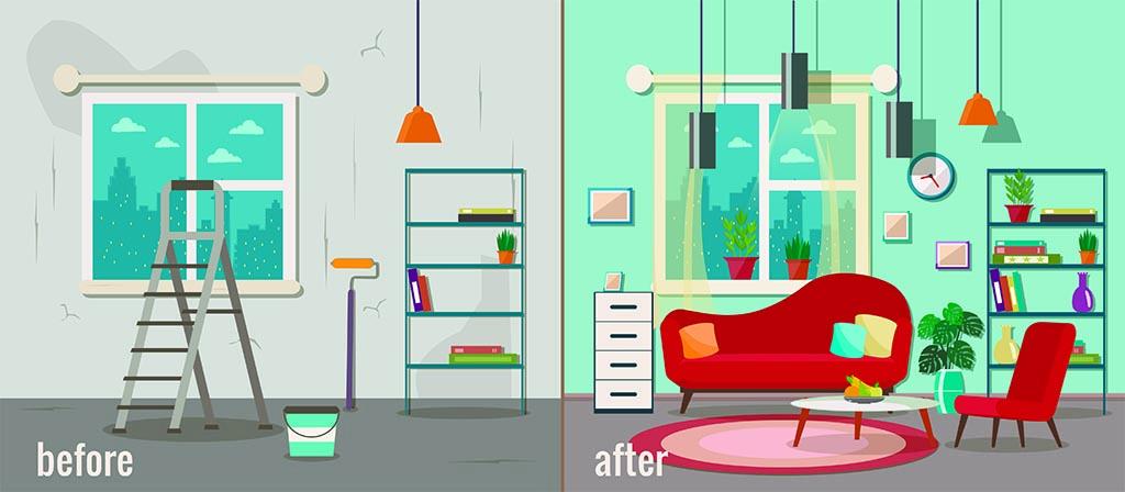 Чи варто робити ремонт перед продажем квартири