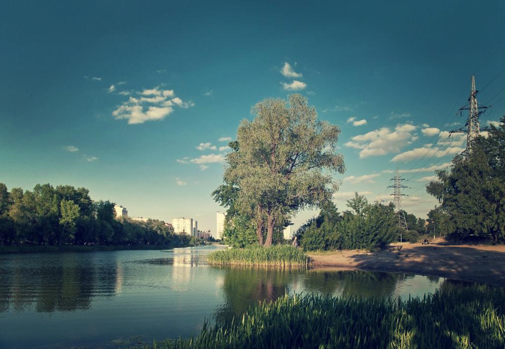 Живописные озера столицы