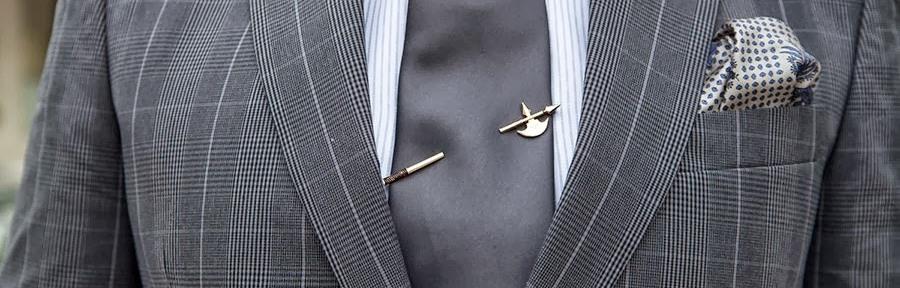 Как правильно выбрать и носить зажим для галстука