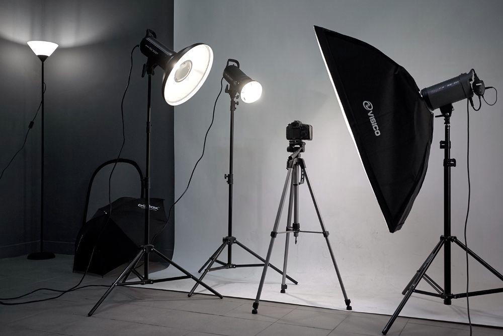 Преимущества съемки в фотостудии