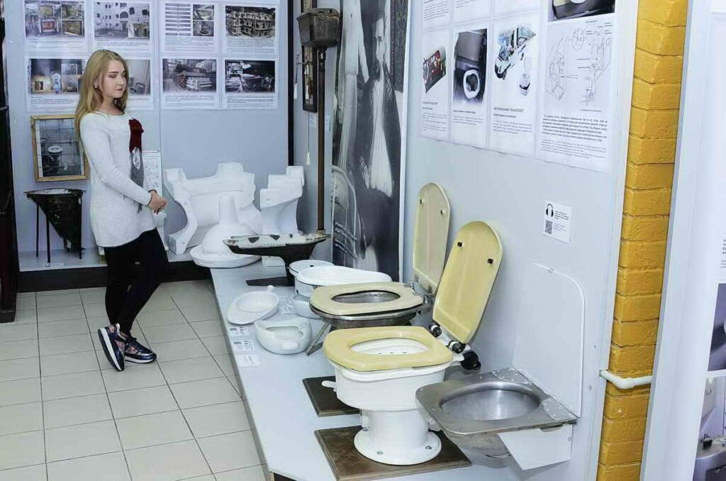 Музей історії туалету: історія, експозиція, ціни квитків
