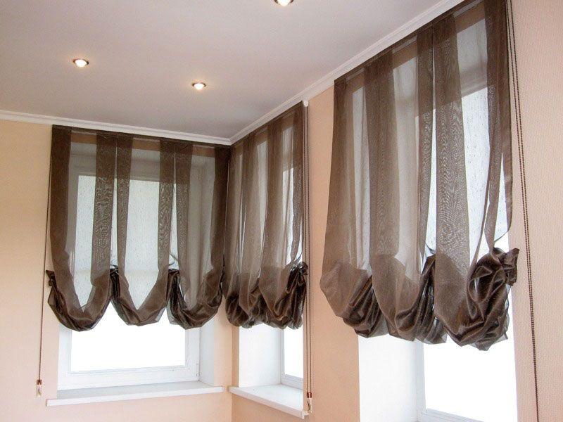 Австрійські і французькі штори. Подібності та відмінності