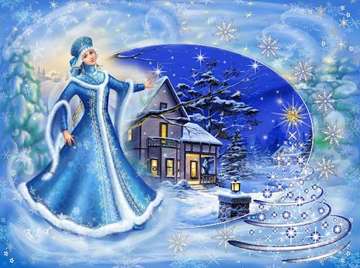 Дід Мороз та Снігуронька: історія появи новорічних персонажів